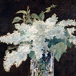 Édouard Manet - The lilac bouquet