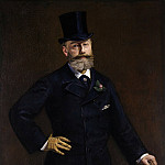 Portrait of M. Antonin Proust, Édouard Manet