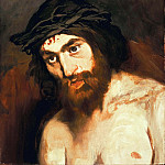 Édouard Manet - The Head of Christ