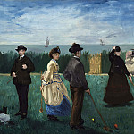 Édouard Manet - Croquet at Boulogne