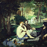 Édouard Manet - Luncheon on the Grass