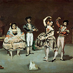 The Spanish Ballet, Édouard Manet