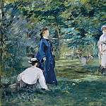 Édouard Manet - A Game of Croquet