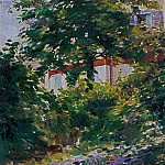 A Path in the Garden at Rueil, Édouard Manet