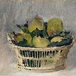 Basket of Pears, Édouard Manet