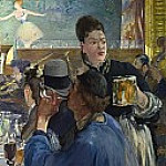 Corner of a Cafe-Concert, Édouard Manet