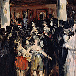 Édouard Manet - Masked Ball at the Opera