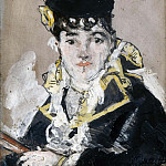 Portrait of Nina de Villard, Mme Callias, Édouard Manet