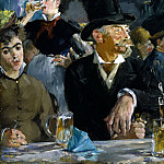 At the Cafe, Édouard Manet