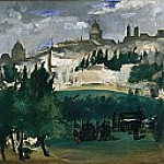 The Funeral, Édouard Manet