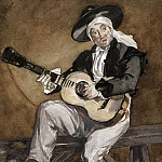 Édouard Manet - The Spanish Singer
