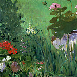 Boy in Flowers , Édouard Manet