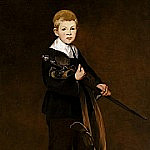 Édouard Manet - Boy with a Sword