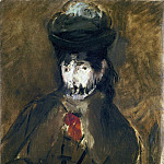 Veiled Young Woman, Édouard Manet