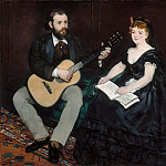 Music Lesson, Édouard Manet