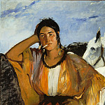 Édouard Manet - Gypsy with Cigarette