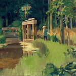 In a Park, Édouard Manet