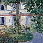 Fritz Von Uhde - The House at Rueil