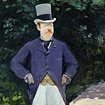 Portrait of Monsieur Brun, Édouard Manet