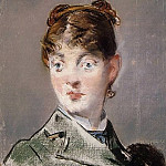 Édouard Manet - Parisienne (Portrait of Madame Guillemet)