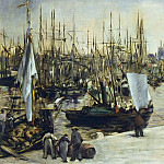 The Port of Bordeaux, Édouard Manet