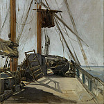 Édouard Manet - The ship's deck