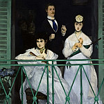 The Balcony, Édouard Manet
