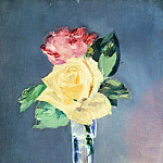 Édouard Manet - Roses in a Champagne Glass