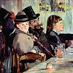 In the Cafe, Édouard Manet
