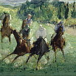 Édouard Manet - At the Races