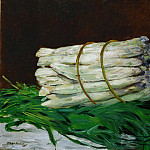 A Bunch of Asparagus, Édouard Manet