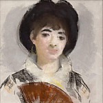 Portrait of Countess Albazzi, Édouard Manet