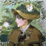 On the Bench, Édouard Manet