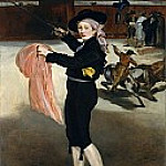 Édouard Manet - Mademoiselle V. . . in the Costume of an Espada