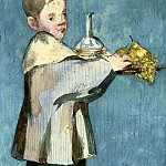 Édouard Manet - Boy Carrying a Tray