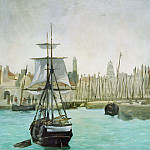 The Port of Calais, Édouard Manet