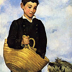 Boy with Dog, Édouard Manet