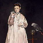 Young Lady in 1866, Édouard Manet