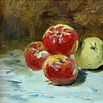 Édouard Manet - Four apples