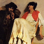 The Sulphur Match, John Singer Sargent