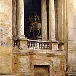 John Singer Sargent - A Window in the Vatican