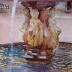The Spanish Fountain, John Singer Sargent