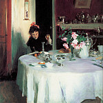 The Breakfast Table , John Singer Sargent