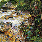 Trout Stream in the Tyrol, John Singer Sargent