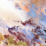 John Singer Sargent - Mountain Fire