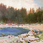 Lake in the Tyrol, John Singer Sargent