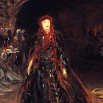 John Singer Sargent - Ellen Terry as Lady Macbeth (sketch)