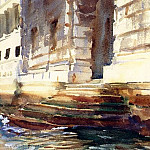 John Singer Sargent - Steps of a Palace