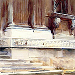 Base of a Palace, John Singer Sargent
