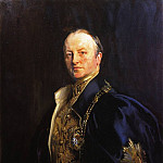 The Right Honourable Earl Curzon of Kedleston, John Singer Sargent